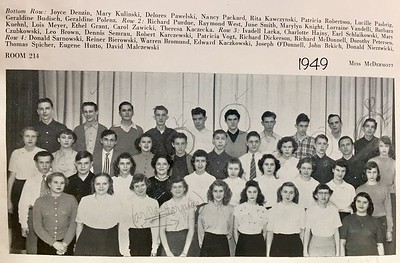 Mom, 1949, Sophmore, South Division High School