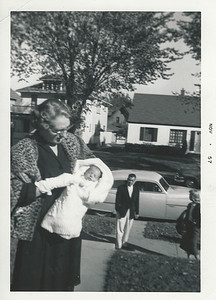 Great Grandma Wiggs, Kim, Dad and Mom.