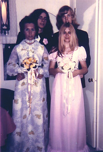 Prom (1971, back left).
