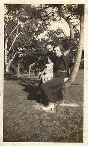 Grandma Dambach, Mom and Mom's real father.