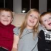 Caleb, Anja and Josh