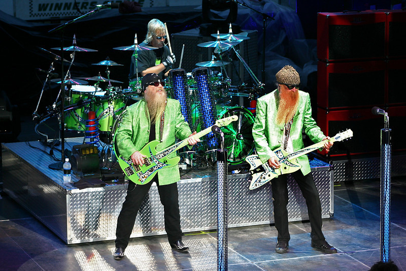 ZZ Top. Kansas State Fair, September, 2005.