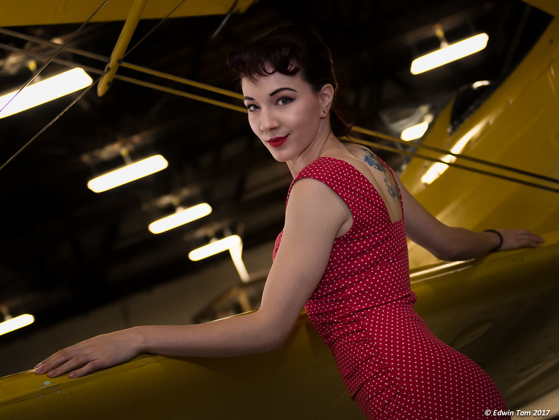 The 50s! Border City Photo Club photo session at the Canadian Historical Aircraft Association.