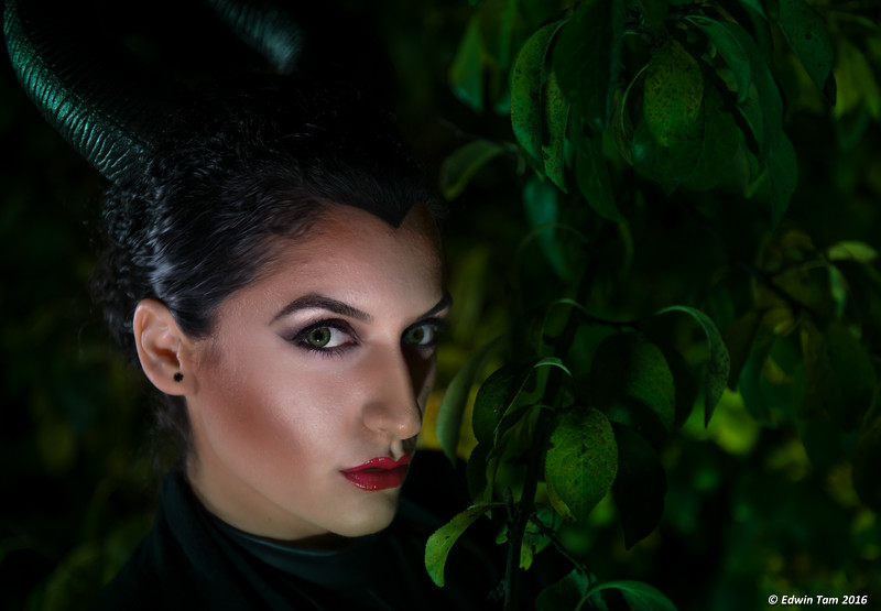 Photo session with Sara Guz onNovember 6, 2016 with her as the mighty Maleficent!