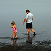 Father & Daughter. Assateague Island, VA. 2008.