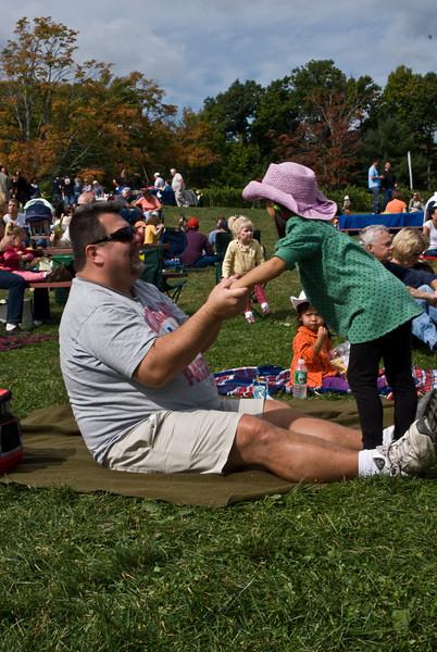 Father & Daughter, Bolton, MA. 2007.