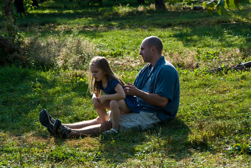 Father & Daughter, Richmond, MA. 2007.