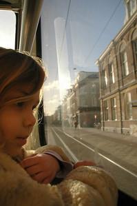 Amsterdam Tram ride