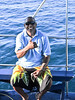 Kenny.<br /> Captain of Nai'a, one of the best livaboards in the world.<br /> Sweetest guy. All Fijians we met are like that.