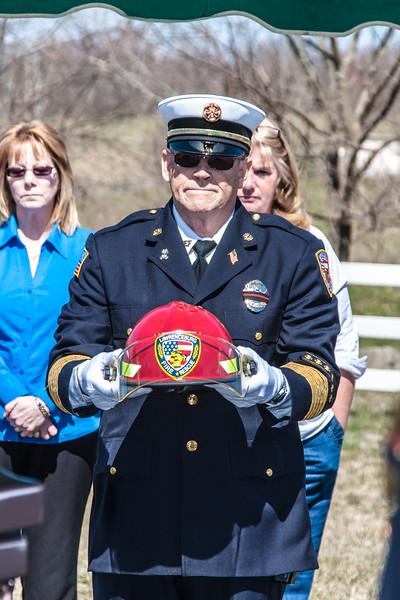 Fire Chief Bobby Hume