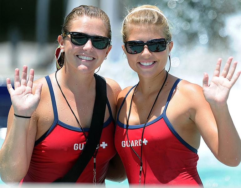 Guests enjoy cooling off at Discovery Island Water Park.<br /> GWINN DAVIS PHOTOS<br /> gwinndavisphotos.com (website)<br /> (864) 915-0411 (cell)<br /> gwinndavis@gmail.com  (e-mail) <br /> Gwinn Davis (FaceBook)