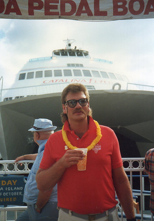 Foggy's Notion staff trip to Catalina Island - late 80's