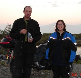 My friends and camping companions in the wilds of the Alaska wilderness, Paul and Stacey.