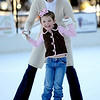 1118ICE.JPG Sophie Noelle Lynn, 5, laughs while skating with her mother, Natalie Rekstad-Lynn at the Ice Rink at One Boulder Plaza in Boulder, Colorado November 17, 2009. CAMERA/Mark Leffingwell
