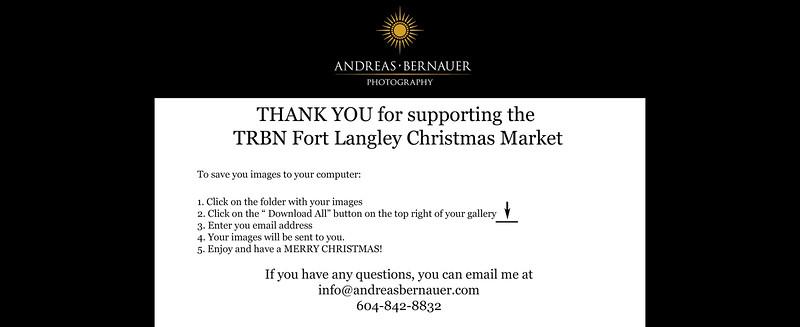 Fort Langley Christmas Market 2016