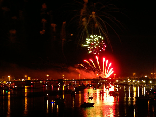 Fourth of July Fireworks in Bay City, Michigan 2014