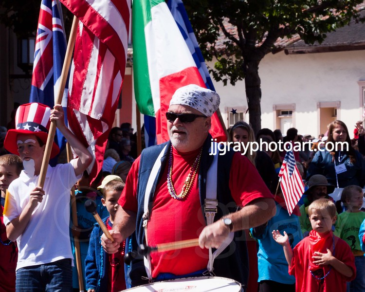 Monterey Fourth of July Parade