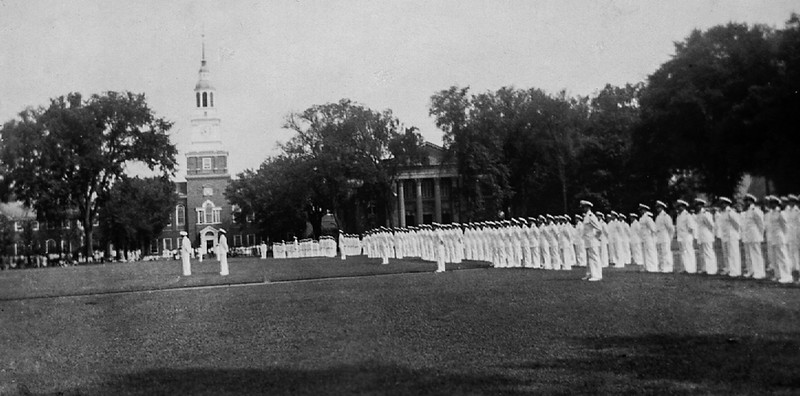 Navy at Dartmouth 1942 - Dad was not a part.