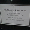 Notice at Merion Golf.