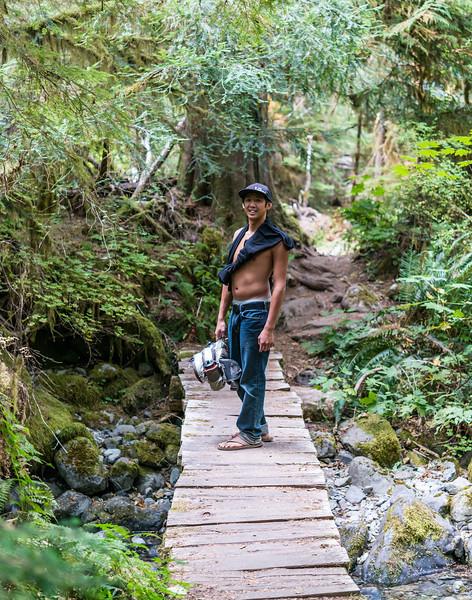 David, Opal Creek Trail