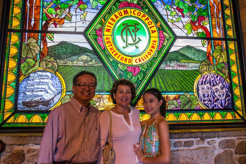 Robert, Ann, and Ashley Chan