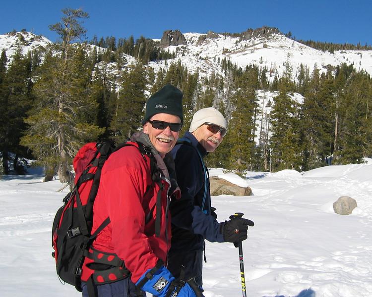 Doug and Bill, Castle Peak
