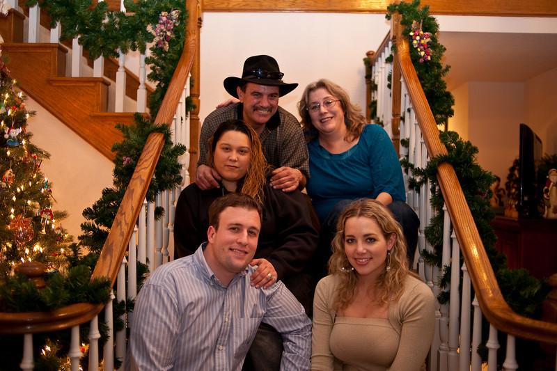 Brady, Melody and family