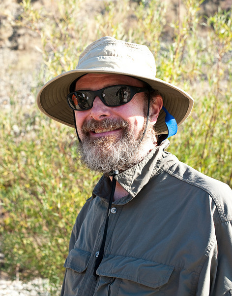 Brad Miller at the Yuba River