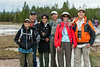 Jet, Dave, Stephanie, Bob, Ann, and Ray - Norris Geyser Basin
