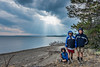 The Christensen boys, Yellowstone Lake