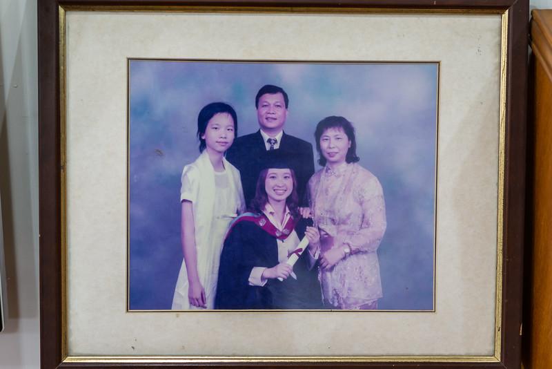 Susan's graduation photo