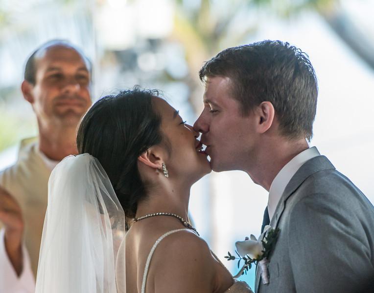 the Kiss - Sheena and John
