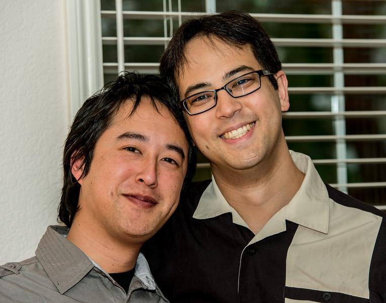 Yoshi and Eric