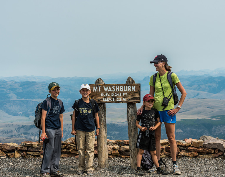 The Christensen's - Forester, Tasman, Lincoln and Erica