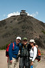 The Mount Washburn lookout tower in Yellowstone - Jeff, Don, and Sarah