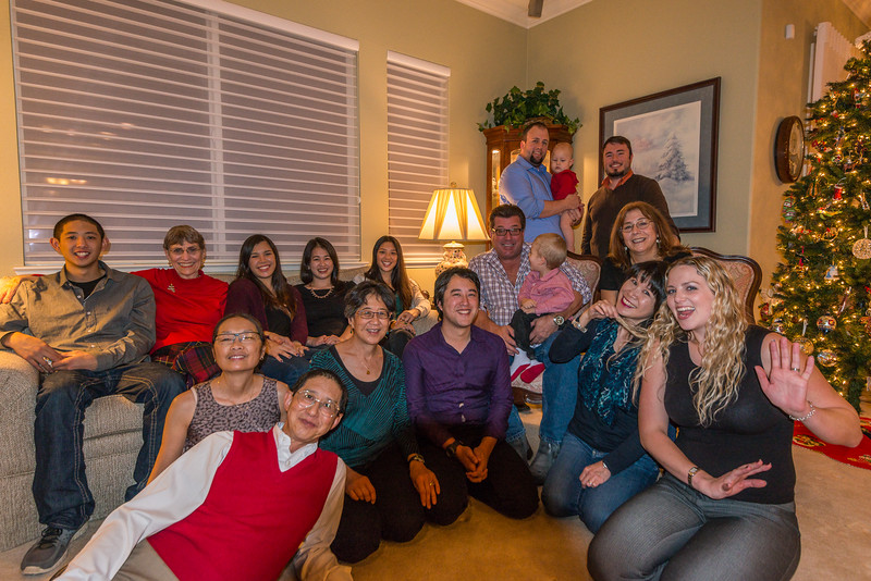 Christmas 2014 at Diane's