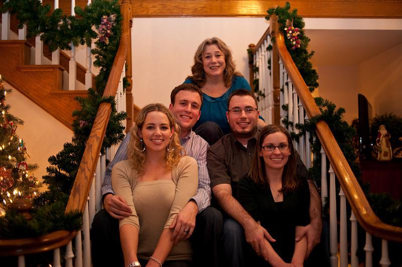 Melody, Jeremy, Jeffrey, Jillian, and Rachael