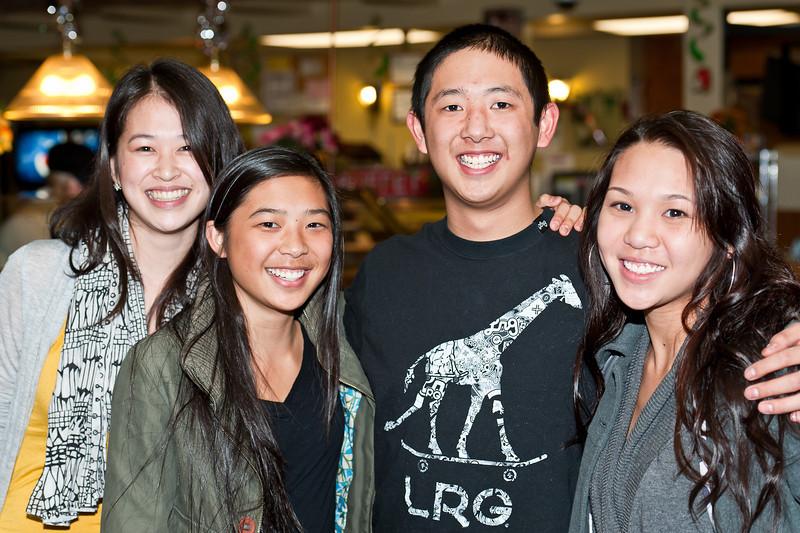 Cousins - Sheena, Sarah, David, and Amy