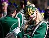 Flutist, Lyman Gilmore school band, Mardi Gras Parade