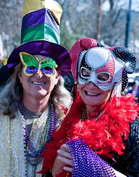 George and Judy, Mardi Gras