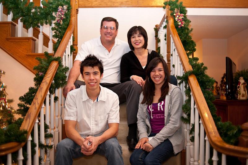 Shaun, Linda, Michael, and Sarah
