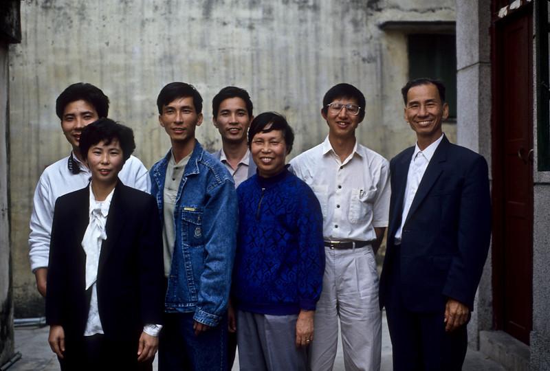 Bing Hei's family
