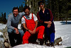 Minor, Joel, and Bob, Rock Creek basin, high Sierras
