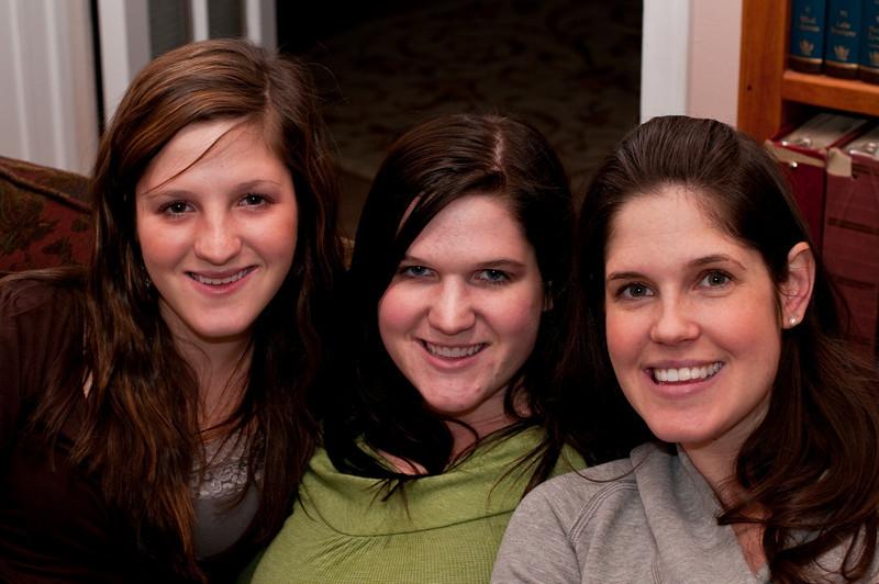 Sisters - Liz, Kristin, Amy