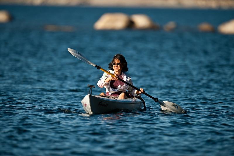 Stephanie on Loon Lake