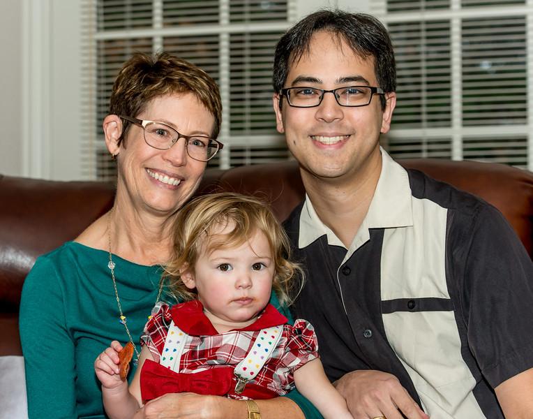 Ann, Alana, and Eric