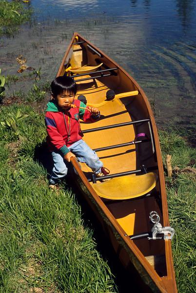 Canoe, Cave Lake