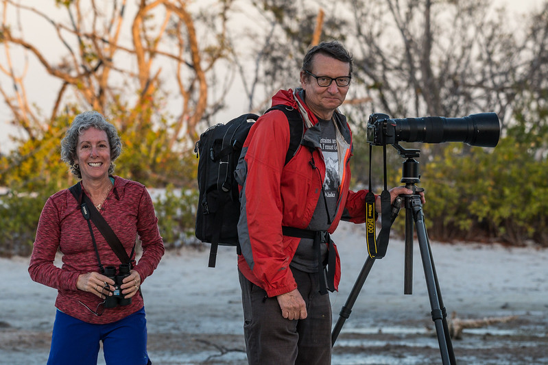John and Robin Mallery,  Florida birding