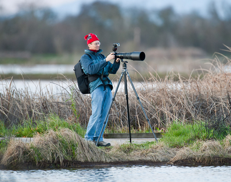 John, first light in February at Cosumnes River Preserve
