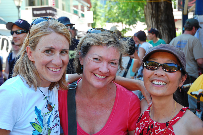 Amrita, Teresa, and Jet